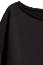 Sweatshirt top - Black - Ladies | H&M 3